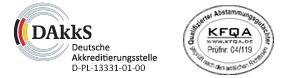 Logo der Dakks für die 17025 Zertifizeirung