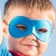 Junge mit Maske, Zwillingstext