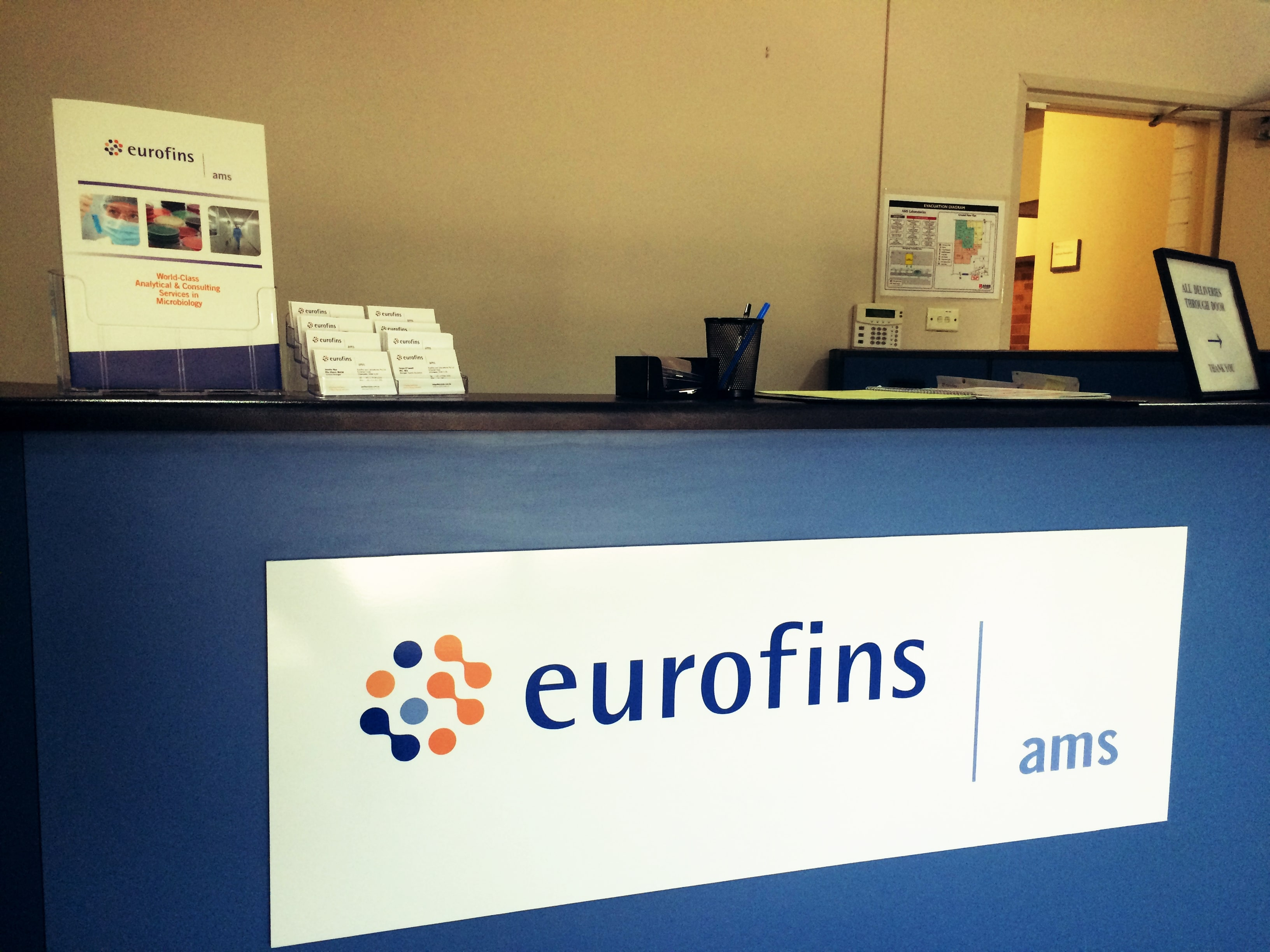 Eurofins ams Counter Sign