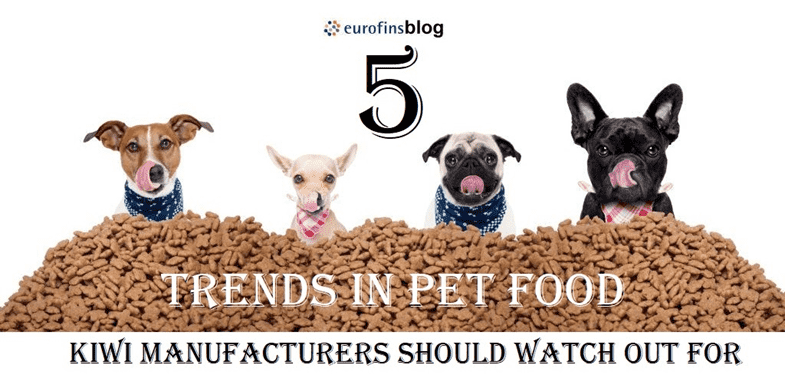 Five trends in the pet food market you should watch out for