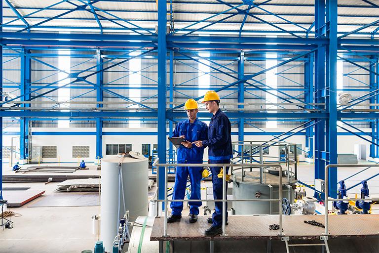 Lĩnh vực và dự án Công nghiệp