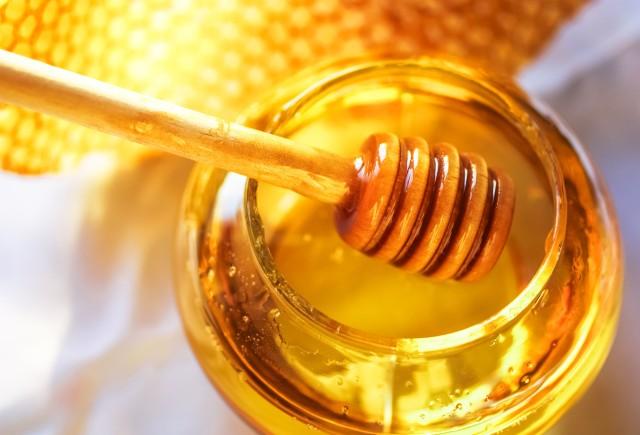 Honey on stick