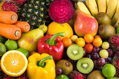 無農藥殘留的蔬菜及水果