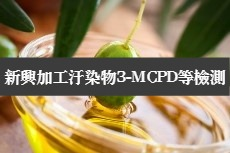 橄欖油為新興加工汙染物3-MCPD重點檢測食品之一
