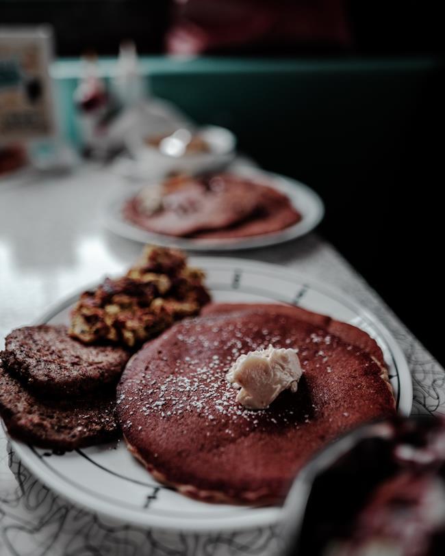 巧克力可被應用在各種甜點及甜味料理-如鬆餅-餅乾等