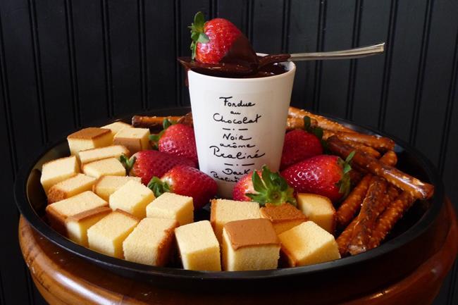 巧克力讓許多甜點或具甜味的料理更加精緻