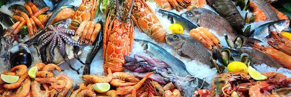 魚及甲殼類都是常見食物過敏原