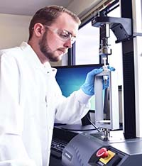 Eurofins Medical Device Testing performs standard and non-standard testing services on syringes to verify product safety
