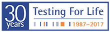 Eurofins 30th Anniversary Logo