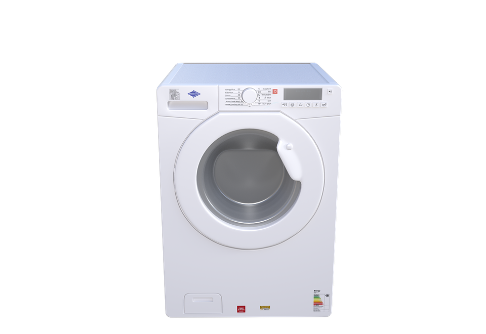 Energy efficiency certification and labelling of electric washing machines for household use