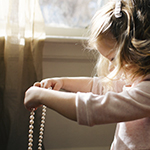 Eurofins Toys and Childcare Teething Necklaces Worn by Children