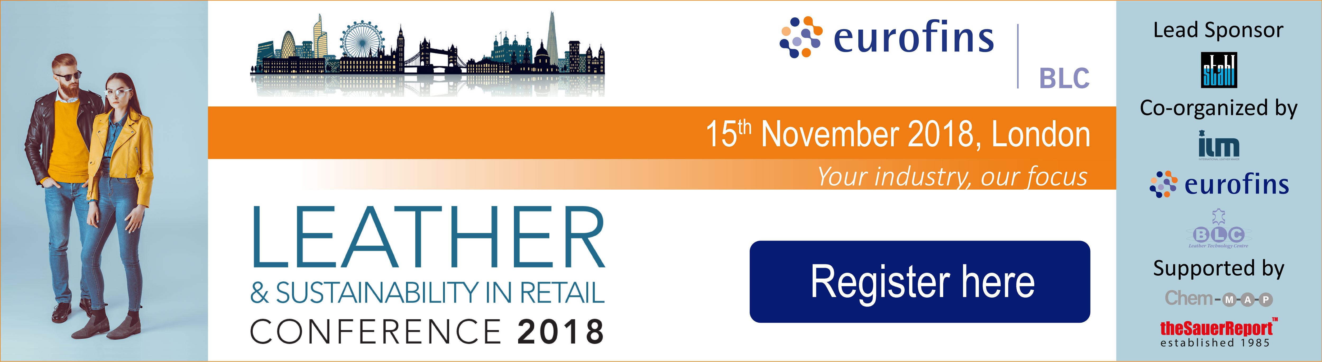 BLC Leather and Sustainability in Retail conference 2018
