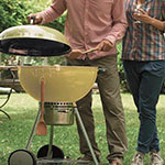 Safety requirements for barbecues using solid fuels