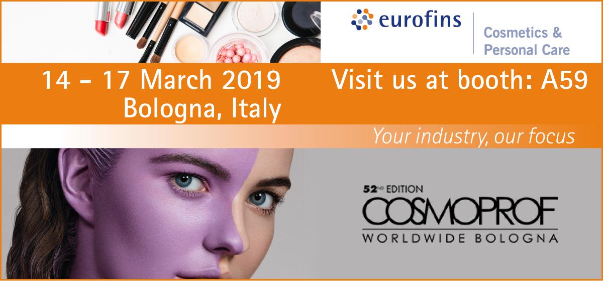 Eurofins Cosmoprof 2019