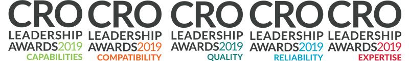 2019 CRO Award Logos