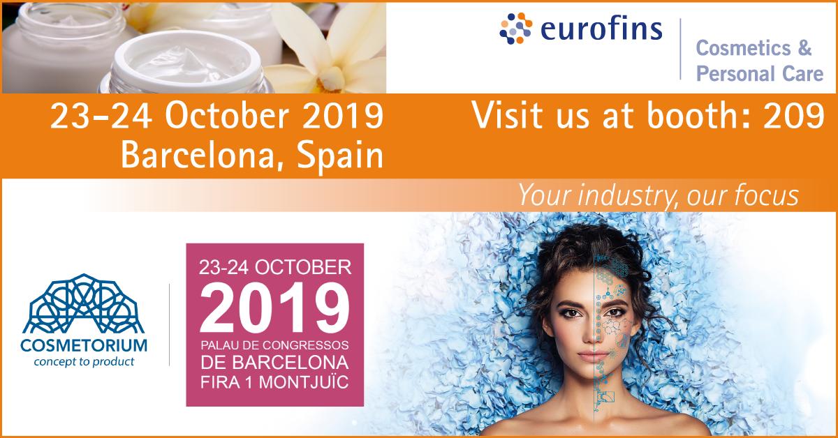 Eurofins APIC 2019 Cosmetics Banner