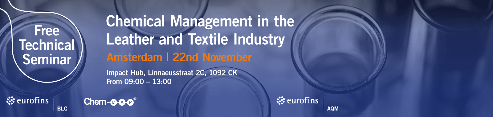 Free Technical Seminar - Chemical Management in the Leather and Textile Industry