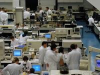 Laboratory scene