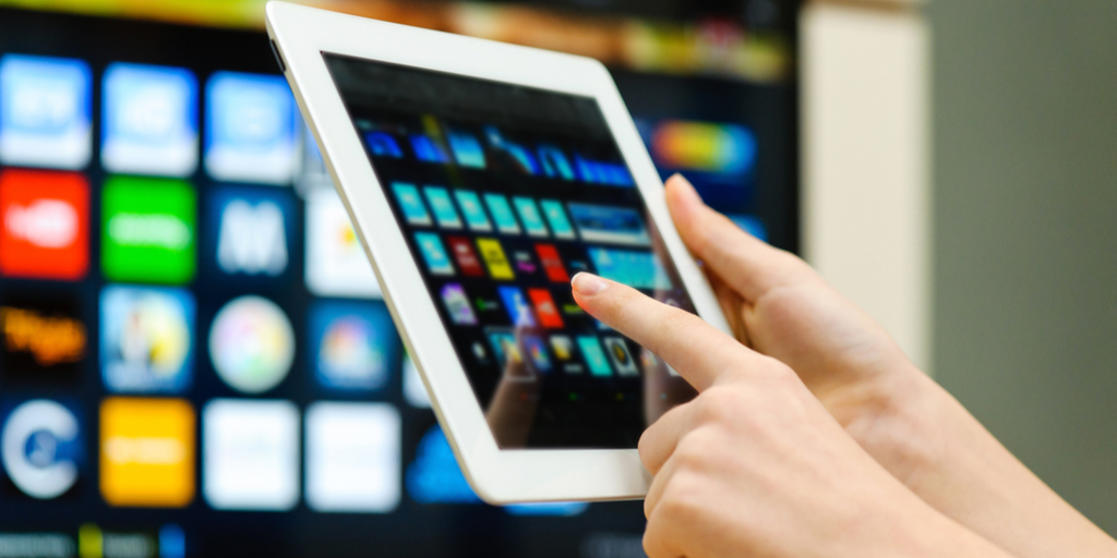 OTT Application on tablet and Smart TV