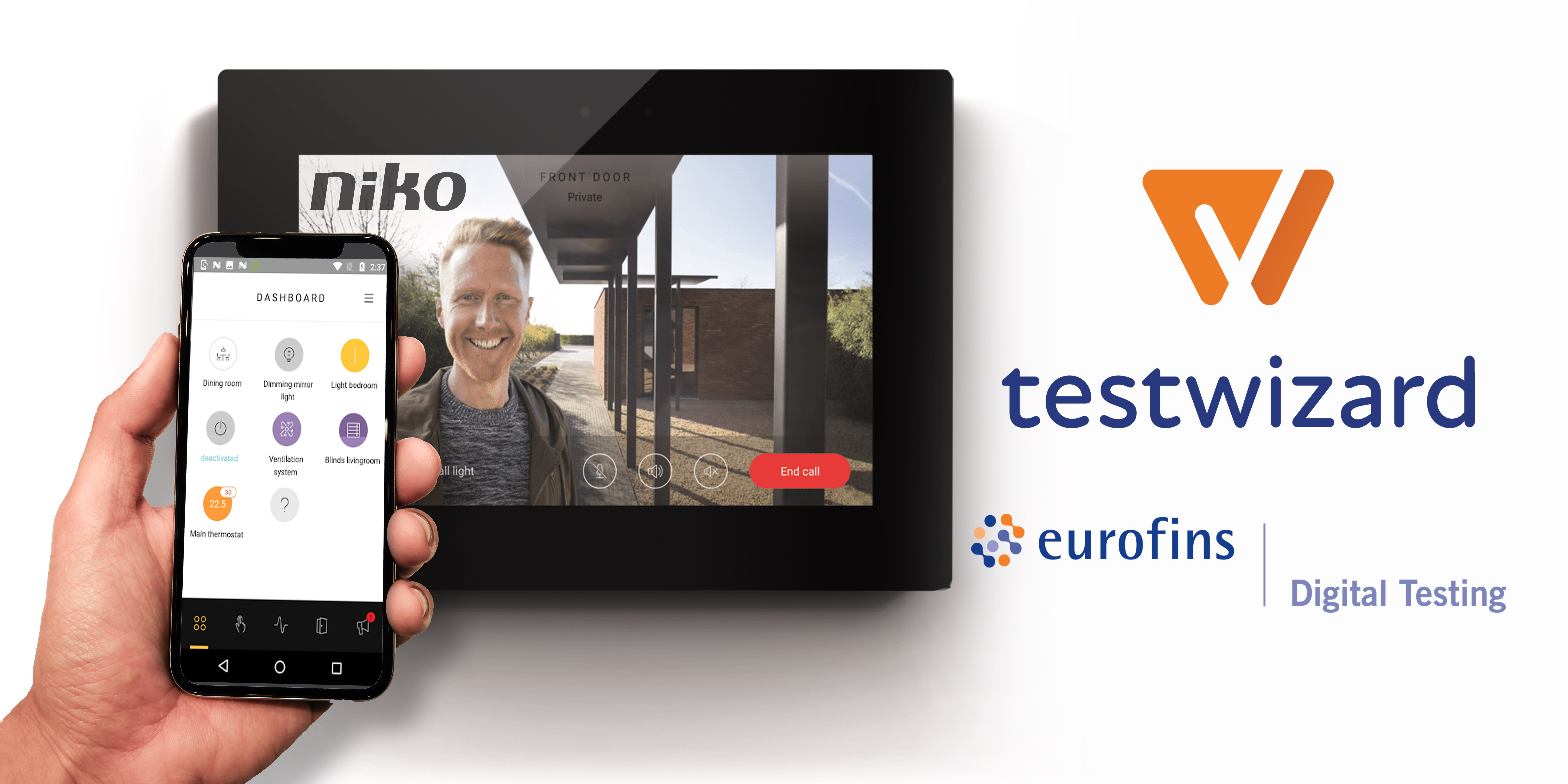 Niko selects Eurofins Digital Testing