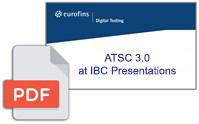 ATSC 3.0 at IBC Presentations