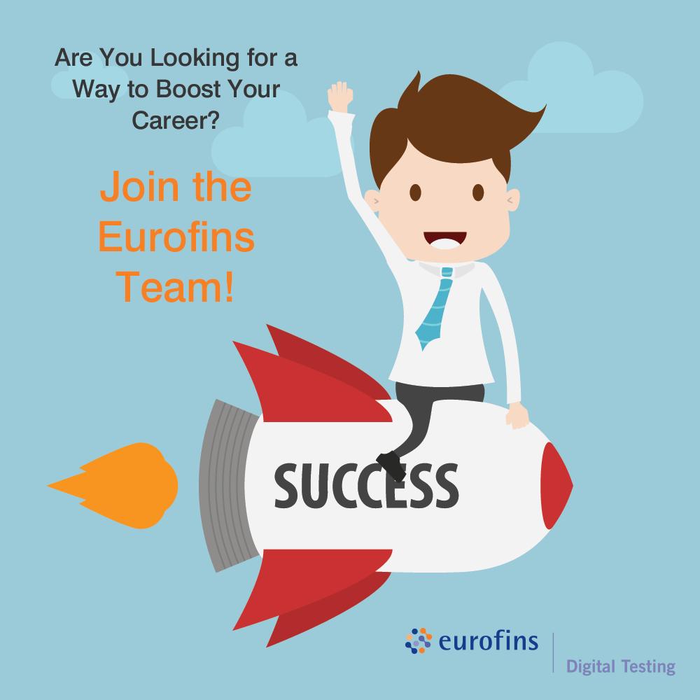 Careers with Eurofins Digital Testing