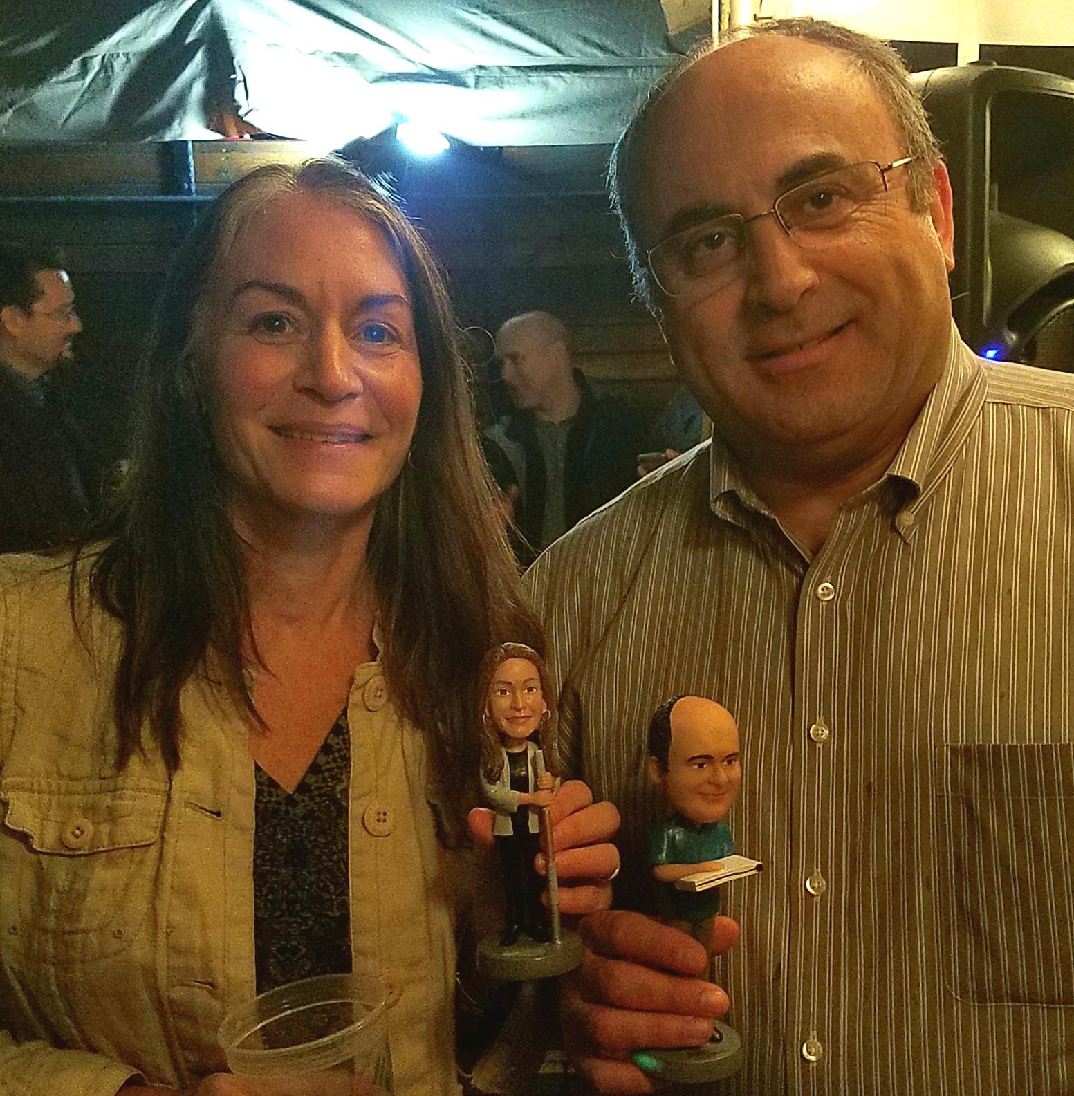 Melinda Friedman and Issam Najm