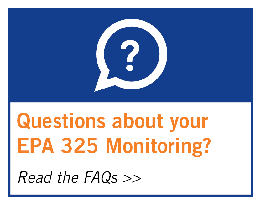 Read our EPA 325 Fenceline Monitoring FAQs