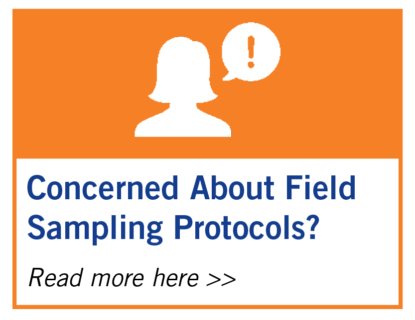 Concerned About Field Sampling Protocols?