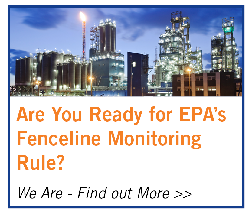 We're ready for EPA's Fenceline Monitoring Rule