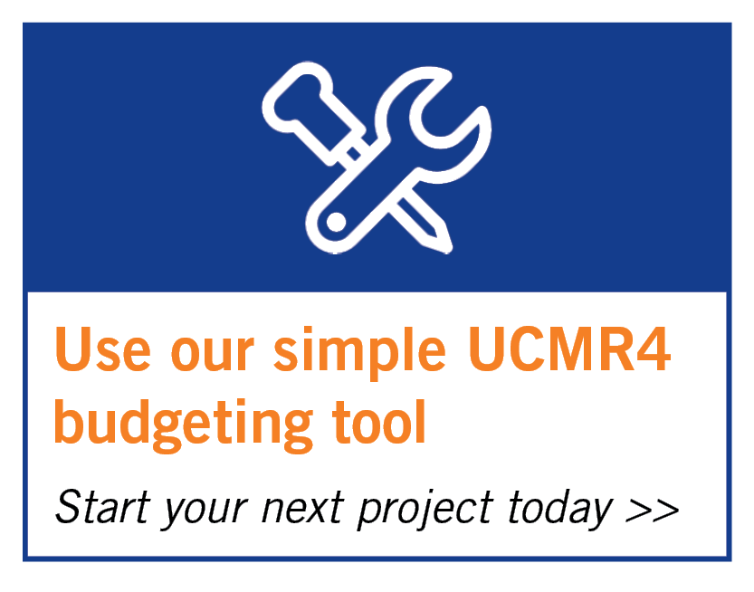 Use our UCMR4 budget tool