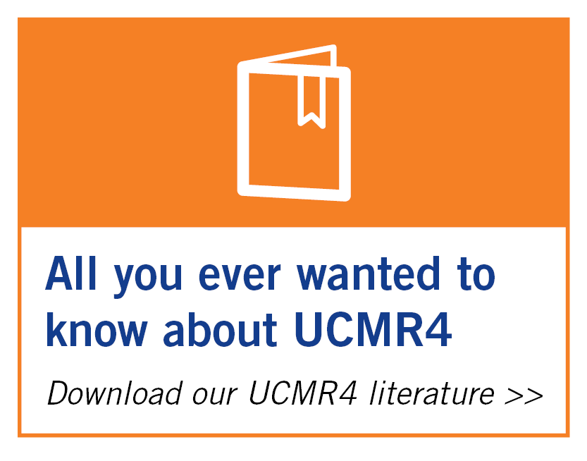 Download our UCMR4 literature