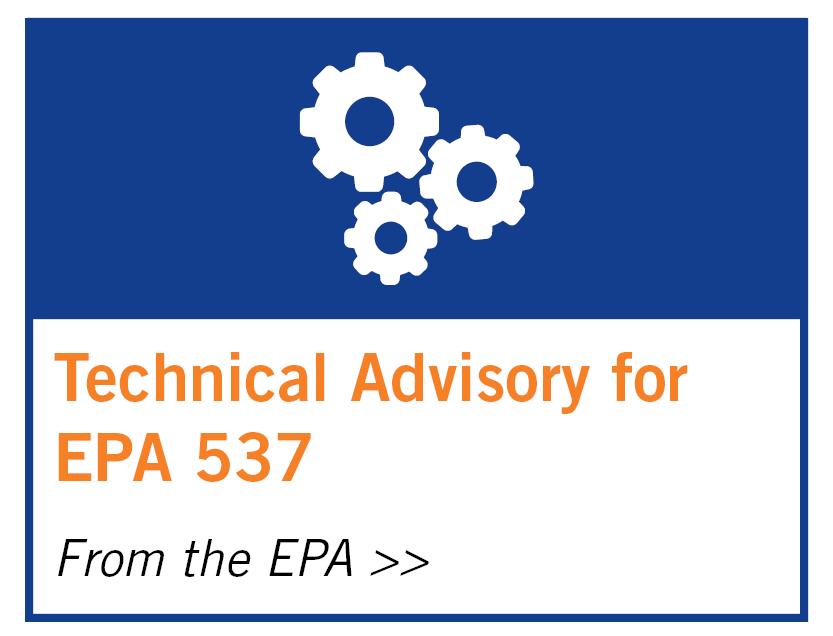 Technical Advisory for EPA 537