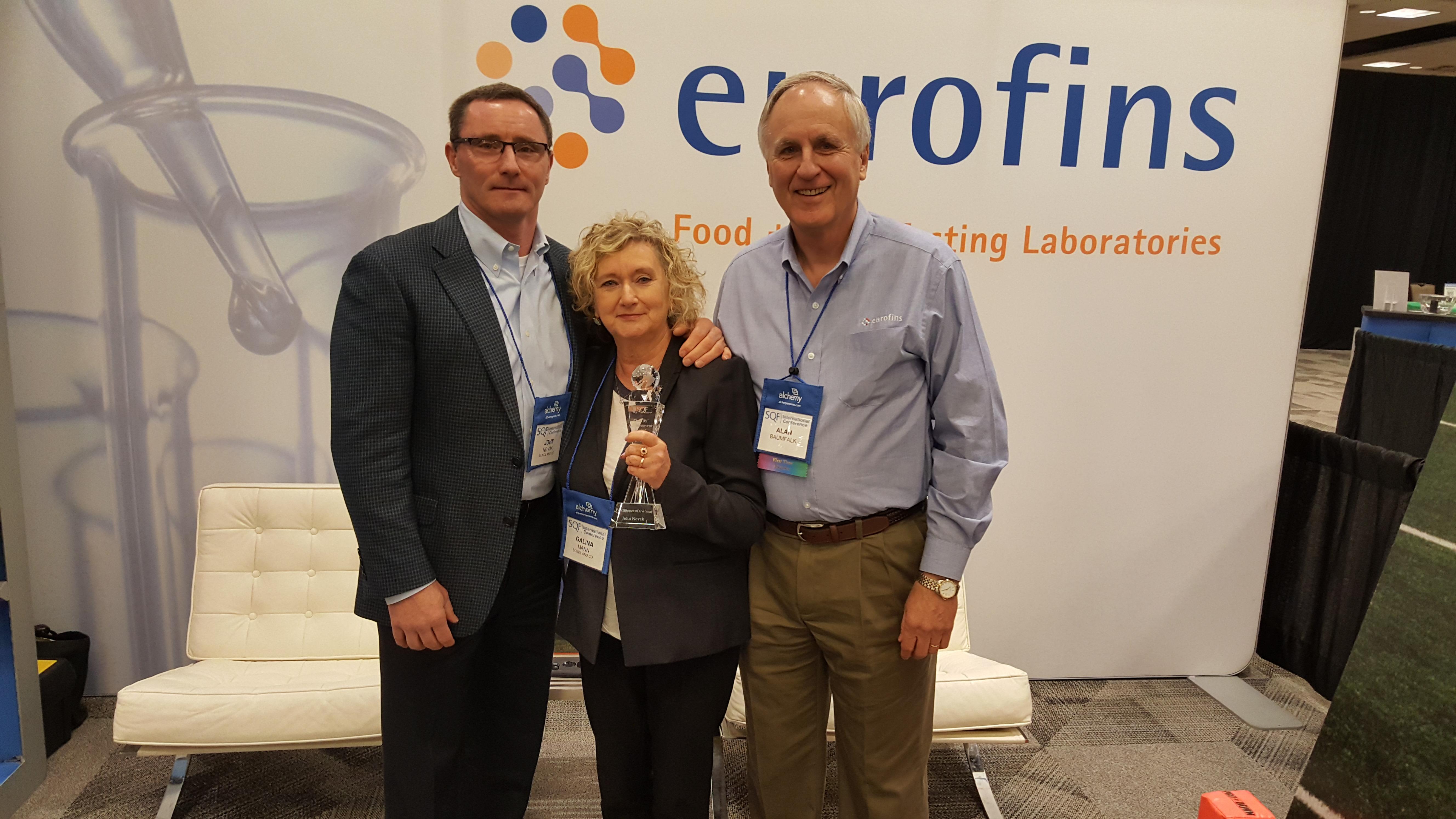 Eurofins SQF Award Winner Sokol Solo Foods