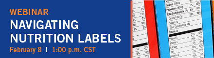 Nutrition Label Webinar