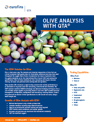 QTA Olive Analysis