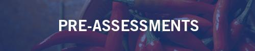pre-assessment audits