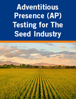 Adventitious Presence (AP) Testing for The Seed Industry