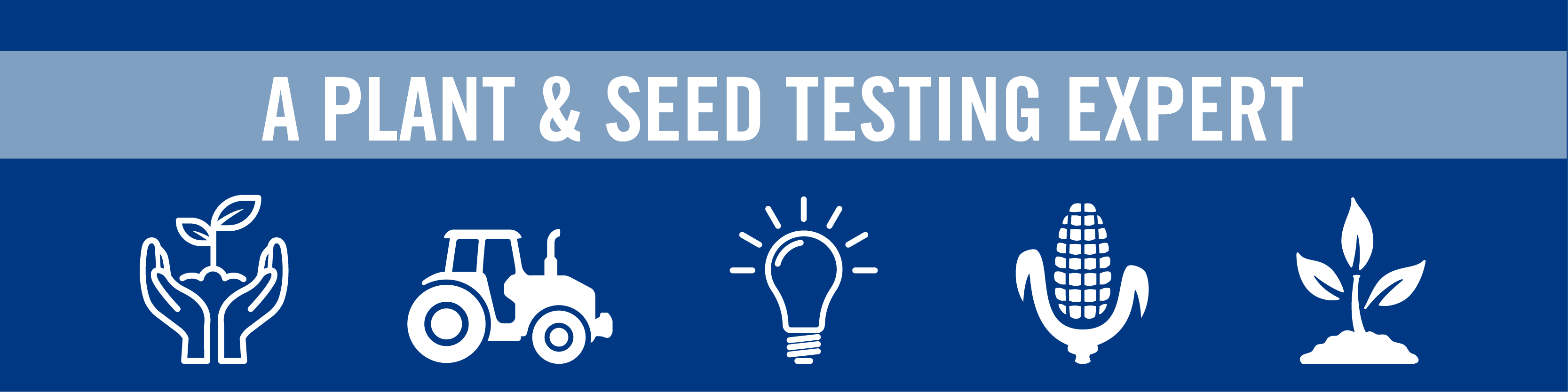 A Plant & Seed Testing Expert