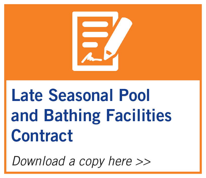 Late Seasonal Pool and Bathing Facilities Contract