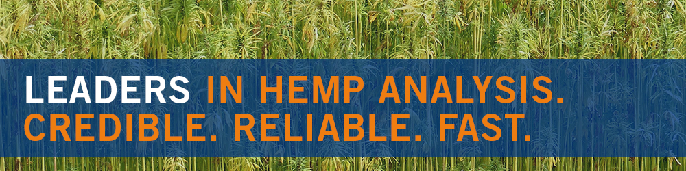 Leaders in Hemp Analysis. Credible. Reliable. Fast.