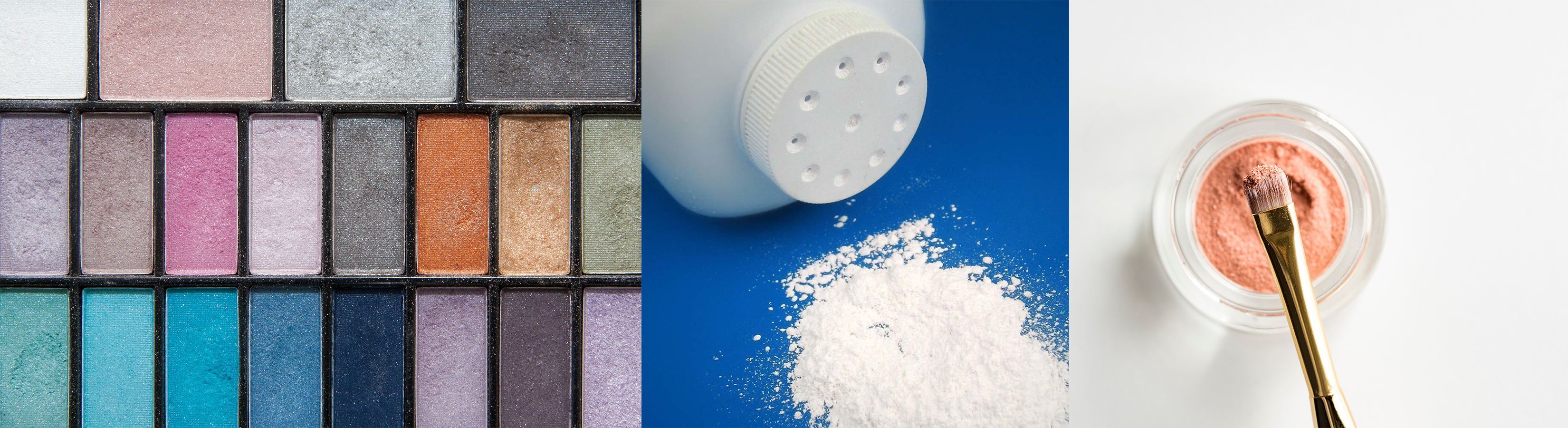 Talc is used in consumer products