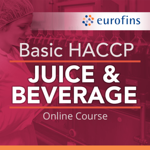 Basic HACCP Juice and Beverage Online Course