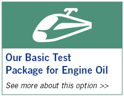 Basic Test Package for Engine Oil