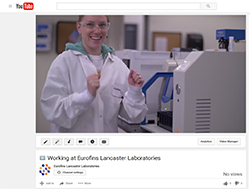 See what working at Eurofins Lancaster Labs means to our employees