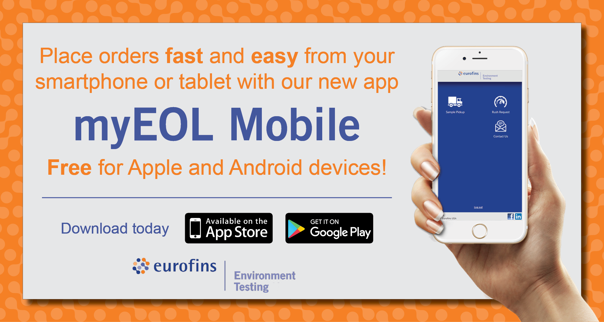myEOL Mobile App