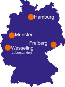 Eurofins GfA Standorte