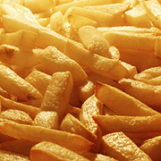 Acrylamid in Pommes frites