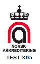 Norsk Akkreditering Test 305
