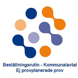 Beställningsrutin - Kommunalavtal - Ej provplanerade prov